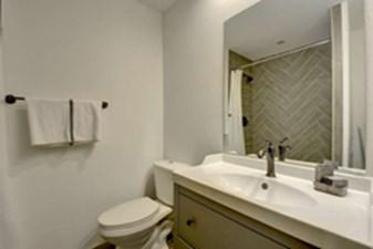 Bathroom at Listing #140213