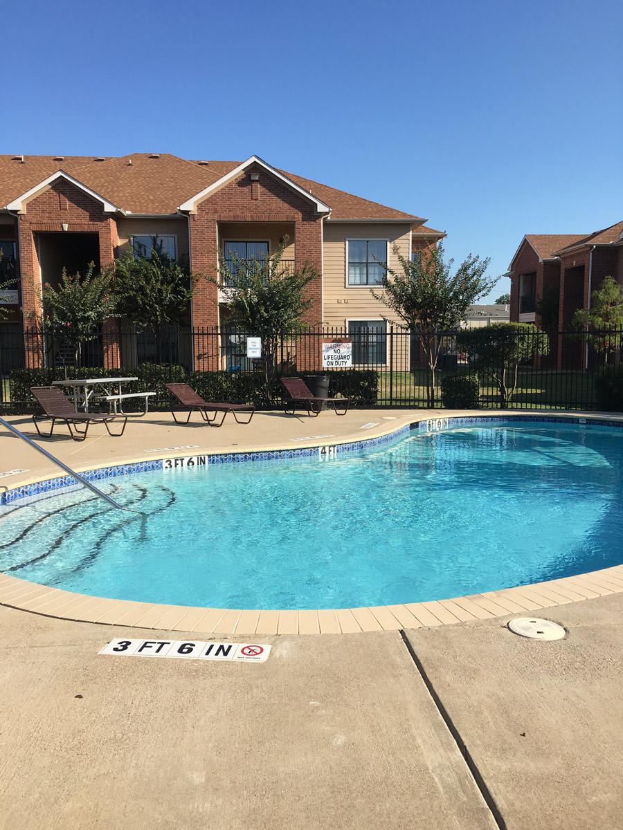 Pool at Listing #144874