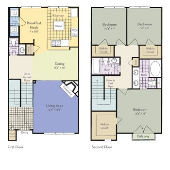 1,505 sq. ft. Denison floor plan
