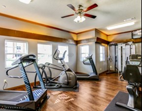 Fitness Center at Listing #214220