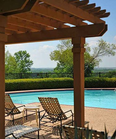 Pool at Listing #137844