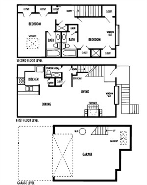1,427 sq. ft. Figaro floor plan