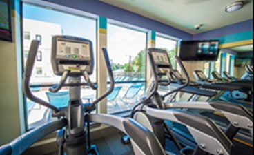 Fitness Center at Listing #153240