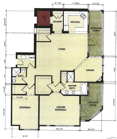 1,814 sq. ft. Blanco floor plan