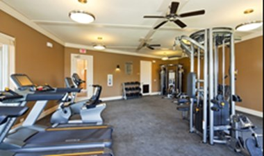 Fitness Center at Listing #155262