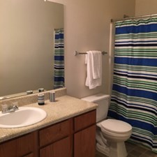 Bathroom at Listing #144874