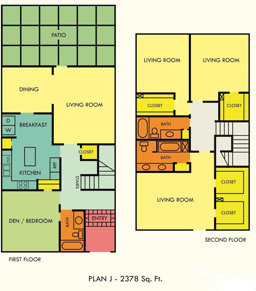 2,378 sq. ft. floor plan