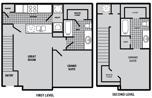 1,116 sq. ft. B2 60% floor plan