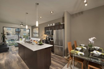 Dining/Kitchen at Listing #144781