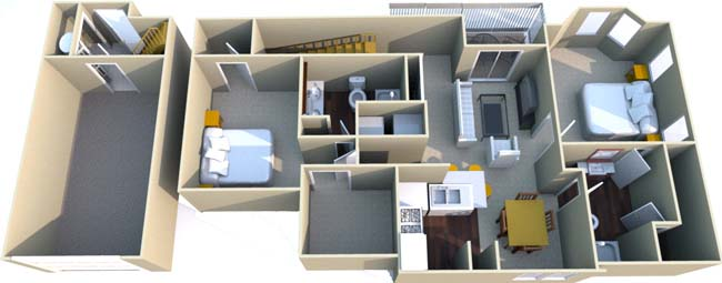 1,148 sq. ft. G floor plan