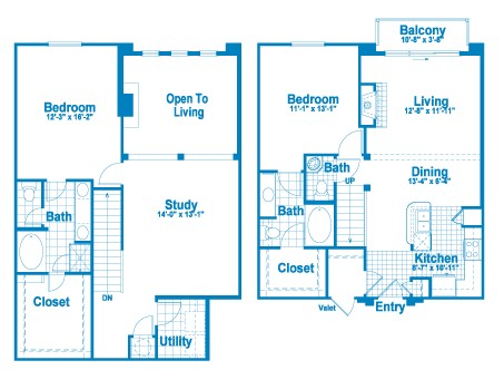 1,617 sq. ft. L3.1 floor plan