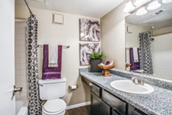 Bathroom at Listing #136504