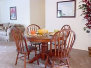 Dining Area at Listing #144385