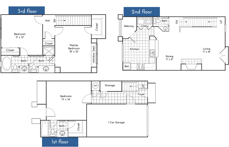 1,661 sq. ft. to 1,670 sq. ft. floor plan