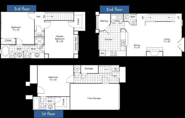 1,661 sq. ft. to 1,670 sq. ft. floor plan