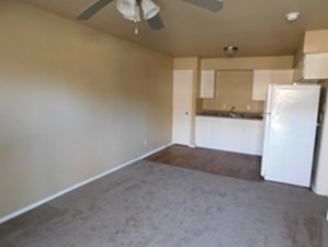 Living/Kitchen at Listing #212336