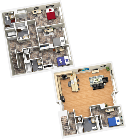 1,763 sq. ft. floor plan