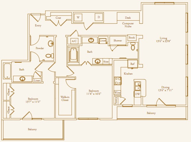 1,791 sq. ft. Lazy Lane Alt floor plan