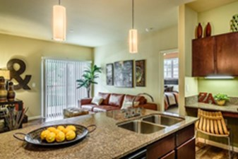 Living/Kitchen at Listing #226852