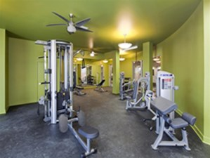 Fitness Center at Listing #155237