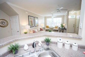 Living/Kitchen at Listing #144815