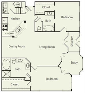 1,403 sq. ft. Fs floor plan