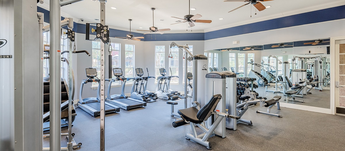 Fitness Center at Listing #144614
