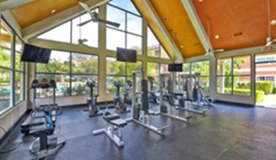 Fitness Center at Listing #140671