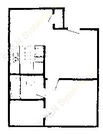 520 sq. ft. Mkt & 60% floor plan