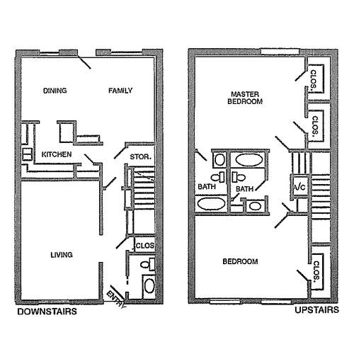 1,566 sq. ft. G floor plan