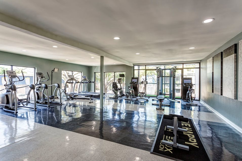 Fitness Center at Listing #138768