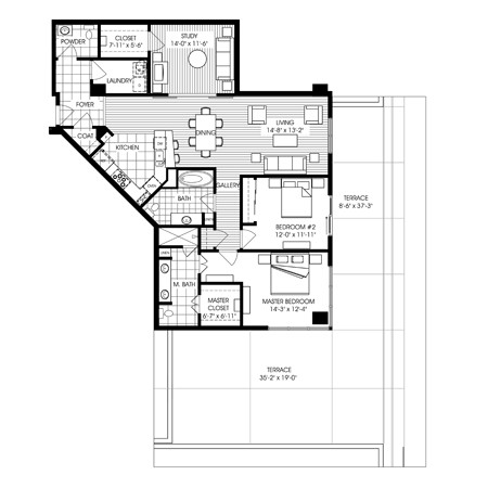 1,754 sq. ft. A12 floor plan