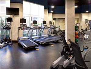 fitness center at Listing #147840