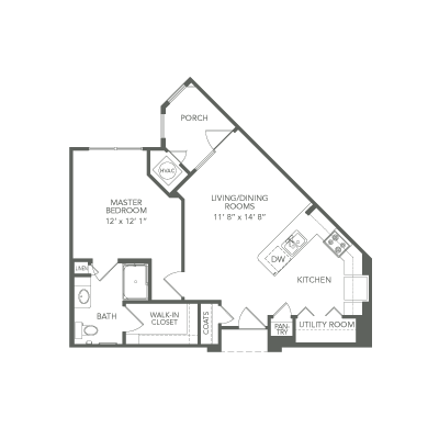 649 sq. ft. 30% Summit floor plan