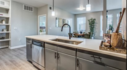 Dining/Kitchen at Listing #144608