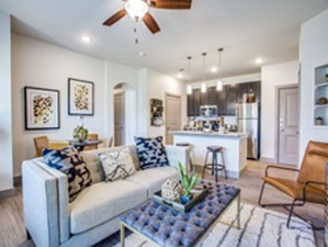 Living/Kitchen at Listing #303478