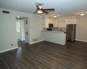 Living/Kitchen at Listing #282815