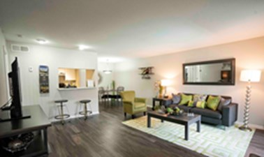Living/Dining at Listing #139552
