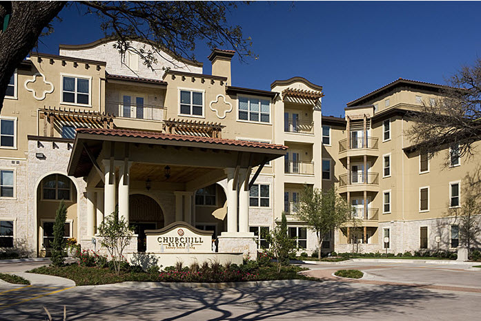 Churchill Estates at Lake Highlands Apartments , TX