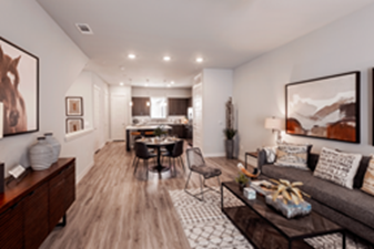 Living/Dining at Listing #286427