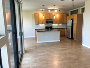 Living/Kitchen at Listing #146262
