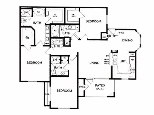 1,503 sq. ft. G floor plan