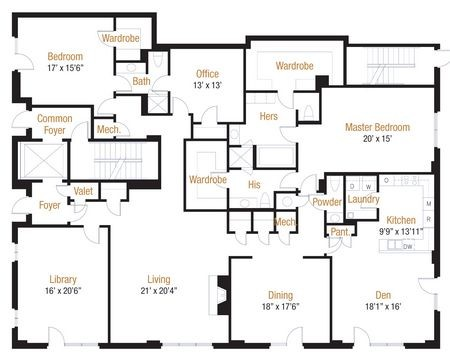 3,916 sq. ft. 37 floor plan