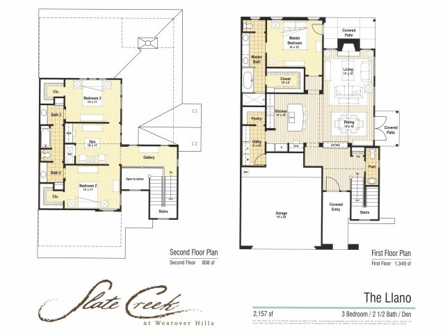 2,157 sq. ft. Llano floor plan