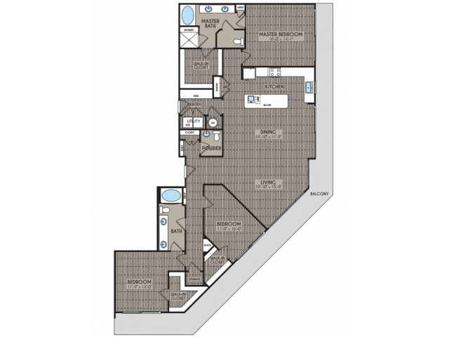 2,105 sq. ft. Everest floor plan