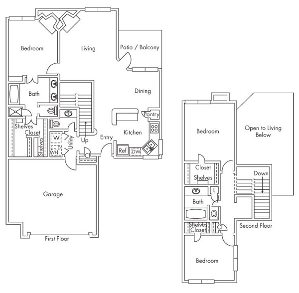 1,834 sq. ft. C4 floor plan