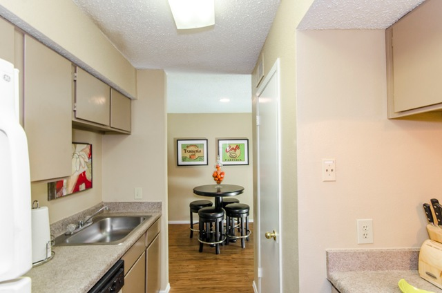 Dining/Kitchen at Listing #136912