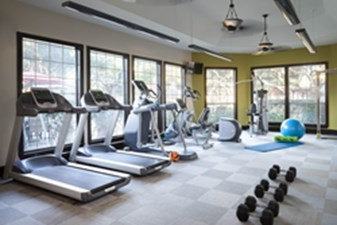 Fitness Center at Listing #144235