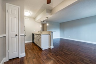 Living/Kitchen at Listing #136375