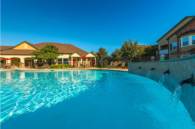 Pool at Listing #144209